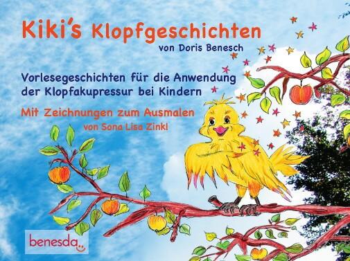 Ein weiteres unserer Klopf-Bücher: Kiki's Klopfgeschichten - Vorlesegeschichten für die Anwendung der Klopfakupressur bei Kindern