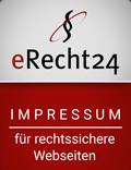 Siegel e-Recht24 Impressum